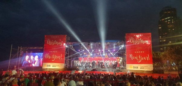 Carols on the Beach 2019